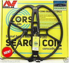"New CORS FIRE 15""x15"" DD search coil for Minelab Sovereign/Excalibur + acc"
