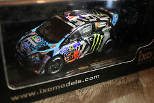 "FORD FIESTA RS WRC RALLYE MEXICO 2013 KEN BLOCK ""MONSTER"" IXO"