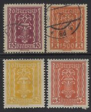 [JSC]1922 First Austrian Republic Central Europe Old Stamps