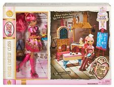 Ever After High Conjunto de Juego Clase recubierto de azúcar con GINGER BREADHOUSE Muñeca De Moda