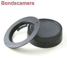 Macro AF confirm M42 Screw Mount Lens to Nikon F mount Adapter Camera D710 Black