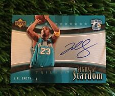 2005-06 Upper Deck Trilogy JR SMITH Signs of Stardom On Card Auto CAVS