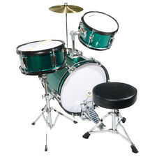 "Mendini 16"" Junior Kids Child Jr. Drum Set Kit ~Green"