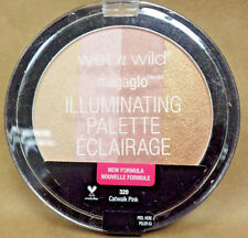 Wet N Wild Illuminating Palette Megaglo 320 Catwalk Pink New and Sealed 0.405 oz