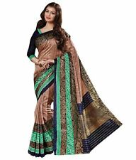 Designer Saree Indian Saree Fabric Saree Bhagalpuri Silk Sari Party wear Sari