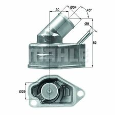 Integral Thermostat - MAHLE TI 10 92 - Quality MAHLE - Genuine UK Stock