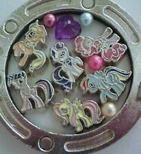 My Litte Pony Floating Charm set crystal pearl for Locket