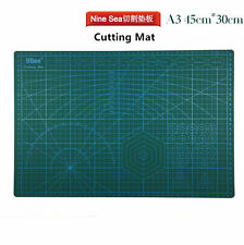 Nine 9 Sea Gundam model tool Double-sided scale Carving Cutting Mat A3 45*30cm