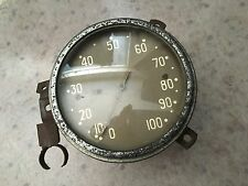 1937 FORD LIMO REAR SEAT ELECTRIC  SPEEDOMETER ORIGINAL 37 RARE