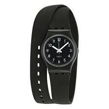 Swatch Lady Black Silicone Ladies Watch LB170