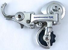 Shimano AX Rear Derailleur 600 Vintage Aerodynamic Racing bicycle NOS