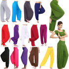 Women Harem Genie Aladdin Gypsy Dance Yoga Loose Pants Trousers Baggy Jumpsuit