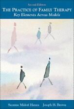 The Practice of Family Therapy: Key Elements Across Models-ExLibrary