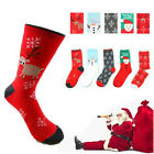 Women Winter Sock Christmas Xmas Warm Wool Sock Novelty Cute Snowflake Deer Gift