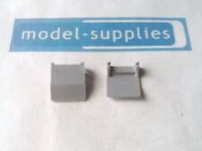Dinky 978 reproduction grey plastic drop down rear steps (pair)