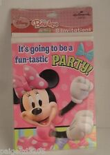 Hallmark Bow-tique Mickey Mouse Clubhouse Disney Minnie Party Invitation Card,8