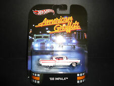 Hot Wheels Chevrolet Impala 1958 American Graffiti 1/64