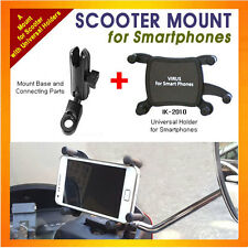 motorcycle/scooter mount+Universal Holder for Smartphones, as iPhone,Galaxy S...