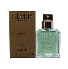 CALVIN KLEIN ETERNITY SUMMER FOR MEN EAU DE TOILETTE SPRAY 100 ML/3.4 OZ.N/P (T)
