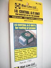 Blair Line N Scale  Central Air Conditioner(4)  Kit  #1705 Bob The Train Guy