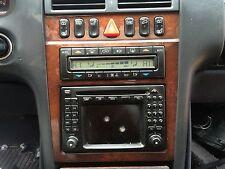 Mercedes-Benz W210 E320 E430 E280 E260 E240 command navigation wood trim bezel