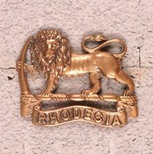 Army Badge:  South Rhodesia General Service - nhm, brass