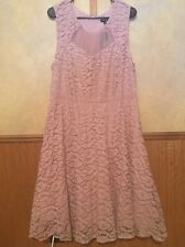 Torrid Dusty Pink Lace Mesh Skirt Party Dress Size 14 New With Tags