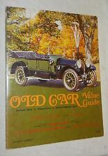 Old Car Value Guide, Vol. IV, No.1  by Quentin Craft (1973, Paperback, illustrat