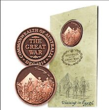WW1 The Great War Training in Egypt Penny In Blister Pack