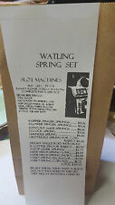 WATLING ROLL A TOP / BLUE SEAL REPLACMENT SPRING SET FOR ANTIQUE SLOT MACHINE