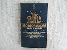 1976 The Church And The Homosexual John J. McNeill GAY Related paperback VG/FN