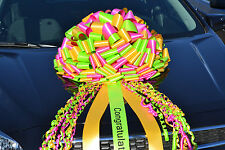 Giant Car Bows, Big Gift Bows, Big Bows for Large Gifts,  Free Imprinting