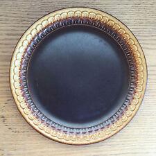 Wedgwood Sierra Brown to Gold Earthenware Embossed Edge   1 Dinner Plate