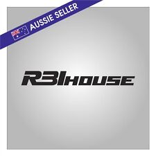 R31House Sticker Decal BLACK suit R31 Skyline GTS GTSX GTSR JDM Passage GT House