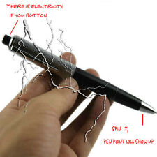 Electric Shock Pen Toy Practical Gadget Gag Joke Funny Prank Trick Novelty gift