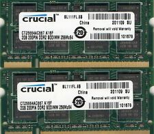 4GB 2X 2GB Kit Panasonic ToughBook CF-30 MK1/CF-30 MK2/CF-30 MK3 DDR2 Memory