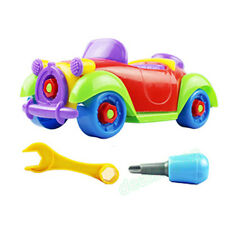 Christmas Gift Kids Child Baby Boy Disassembly Assembly Classic Car Vehicle Toy