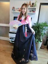 "Luxury Korean Traditional Clothe Dress Lovely HANBOK WOMAN_40""chest 162 cm. tall"