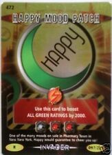 DR WHO INVADER RARE 472 HAPPY MOOD PATCH