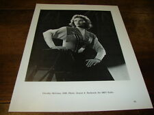 DOROTHY McGUIRE & JOAN CRAWFORD - MINI POSTER N&B !!!!!