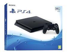PlayStation 4 slim - Konsole 500GB, schwarz  (CUH-2016A) *NEU&OVP*