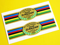 Raleigh Vintage style 'Tour De France Winners 1977/78' Bike Stickers decals