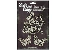 Petaloo Color Me Crazy™ Chipboard Butterflies
