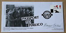 Comedians passaporto a Pimlico 1998 FDC firmato dall' Attore Bernard cribbins