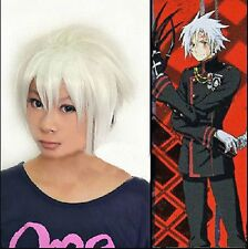 D Gray Man Allen Walker Stunning Stylish Grey Short Cosplay Hair Wig