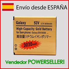 Bateria GOLD Samsung Galaxy S4/GT-I9505/i9506/i9500/i9400/SIV DURACION 3030mAh