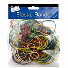 Just Stationery Coloured Elastic Bands 100g 6224