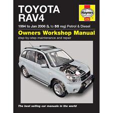 [ 4750 ] TOYOTA RAV 4 1.8 2.0 essence 2.0 Diesel 1994-06 (l à 55 reg) Haynes manua