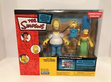 Playmates The Simpsons WOS The Simpsons House Diorama Homer, Marge, Maggie MIB