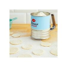 Tala Flour Sifter Retro Stainless Steel Trigger Action Icing Sugar Coco Cake Pie